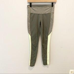 Athleta Full Length, Green/Gray Leggings
